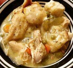 Recipes 17 |   Crockpot Chicken and Dumplings