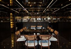 loveisspeed.......: GeoID conjures an air of mystery within the interiors of Konsolos Restaurant...
