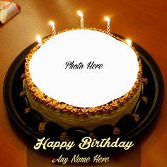 Happy Birthday Flower Cake, Birthday Wishes With Name, Happy Birthday Wishes Cake, Birthday Cake For Him, Birthday Cake With Photo, Happy Birthday Cake Images, Birthday Cake Pictures, Birthday Wishes And Images, Birthday Photo Frame