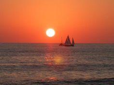 Sunset off Hualalai