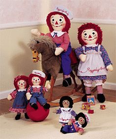 free crochet patterns for Raggedy Ann & Andy   FREE CROCHET PATTERN FOR RAGGEDY ANN DOLL   Crochet and Knitting ...