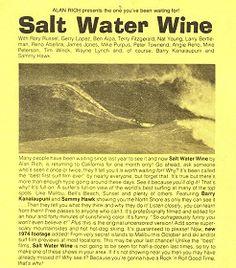 Salt Water Wine