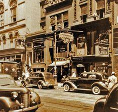59th Street, adjoining the corner of Madison Ave., 1937. {.L. Sperr via NYPL.