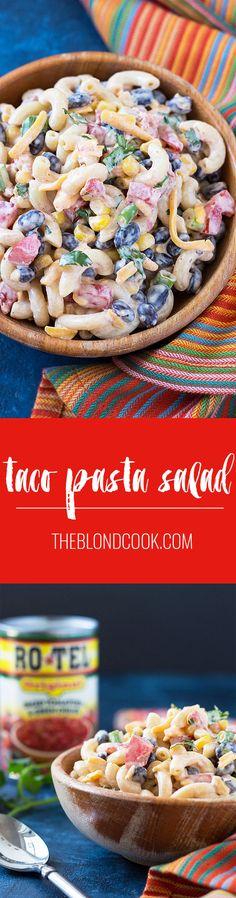 Taco Pasta Salad - P