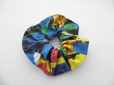 Scrunchie made with LEGO® fabric £3.00