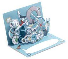 DIY-Pop-up-Karten - Antje von Stemm (idee für Steampunk)