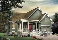 Plan de maison no. W3219 de dessinsdrummond.com