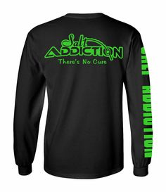 Salt Addiction Logo long sleeve fishing t shirt,saltwater,Flats,offshore,life, #SaltAddiction #TShirt
