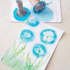 Sandra y la Educación Inicial: MÁS TÉCNICAS DE ARTE INFANTIL (MÁS DE 100) Kids Crafts, Toddler Crafts, Easter Crafts, Arts And Crafts, Summer Art Projects, Summer Crafts, Summer Diy, Art Floral, Toilet Paper Roll Crafts