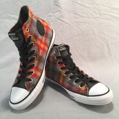 79ac185a62a156 Woolrich Converse Chuck Taylor All Star Thunder Casino White Mens 7 Womens 9