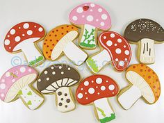Ann Clark Mushroom Cookies by A Dozen Eggs1, via Flickr