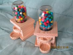 Candy machines! Love