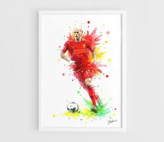 Martin Skrtel Liverpool FC  A3 Art Prints of the by NazarArt, $20.00