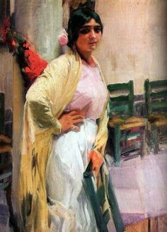 The Museo Sorolla in Madrid is dedicated to the works of the Spanish impressionist painter Joaquin Sorolla Spanish Painters, Spanish Artists, Claude Monet, Figure Painting, Painting & Drawing, Valencia, Art Espagnole, Portraits, Oil Painting Reproductions