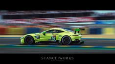 The running of the 24 Hours of Le Mans marks BMW's first return since With the GTE, BMW fought hard in racing's toughest event. Gt Cars, Indy Cars, Race Cars, Panning Photography, Aston Martin Vantage, Car Racer, Le Mans, Super Cars, The Past