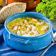 Krämig fisksoppa med rotfrukter och räkor Curry, Ethnic Recipes, Anna, Food, Tips, Curries, Essen, Meals, Yemek