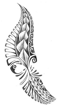 PapiRouge - Tattoo Zeichnungen #hawaiiantattoossleeve #maoritattoosleg