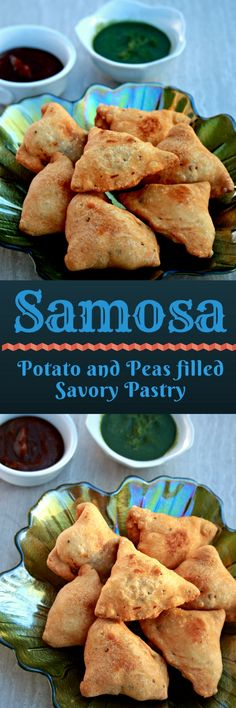 Samosa | Potato and Peas filled Savory Pastry #streetfood #Indianstreetfood #pastry #samosa #appetizer #snacks #potato #indianfood #food #foodblogger #mycookingjourney