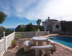 Reduced price villa for sale in #Moraira, Costa Blanca North, Spain.