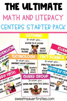 Are you looking for an easy way to get your math centers and literacy centers up and running in your classroom? This jam packed resource has everything you need to get started and have successfully run centers for the entire year. From centers anchor charts and class activities to detailed lesson plans, editable posters and engaging activities. You will get a good choices poster and centers expectation anchor charts you can use all year long. You also get looks like sounds like anchor charts.