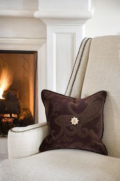 Joy Tribout Interior Design - love the chair
