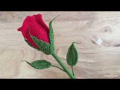 Crochet Valentine Rose (ประกอบดอกกันค่ะ) - YouTube