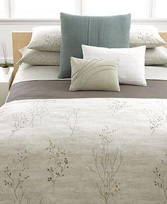 Calvin Klein Home Bedding, Briar Queen Comforter - Bedding Collections - Bed & Bath - Macy's