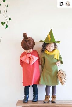 Little My and Snufkin Cool Costumes, Cosplay Costumes, Halloween Costumes, Costume Ideas, Little My Moomin, Moomin Valley, Celebrate Good Times, Festival Dress, Halloween 2018