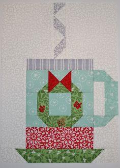 Christmas Blocks, Christmas Quilt Patterns, Christmas Sewing, Christmas Crafts, Christmas Quilting, Christmas Tables, Christmas Ideas, Mug Rug Patterns, Quilt Block Patterns