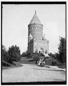 Garfield Memorial, Cleveland, Ohio; c. 1895-1910