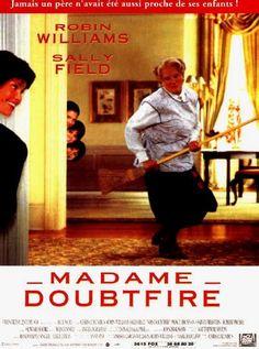 Doubtfire - 1993 - directed by : Chris Columbus - cast : Robin Williams, Robert Prosky Buddy Movie, Movie Tv, Mrs Doubtfire Movie, Madame Doubtfire, Jonathan Pryce, Dean Jones, Eddie Murphy, Christina Ricci, Robin Williams