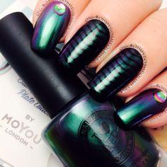Instagram photo by ohmygoshpolish #nail #nails #nailart