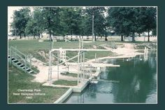 Clearwater Park, southwest of Marion, IN. 1961