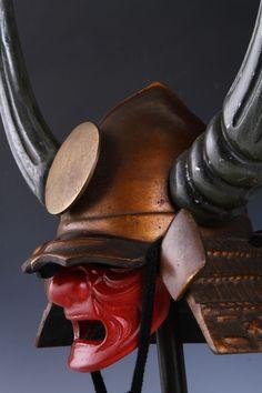 Samurai Helmet, Kabuto, Bushi, Mempo