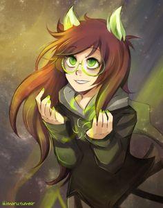 God Jade << SHE'S SO PRETTY! I love the art style!