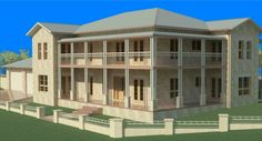 Stone Kit Home Designs: The Fairview. Visit www.localbuilders.com.au/index.htm to find your ideal Kit home design in Australia