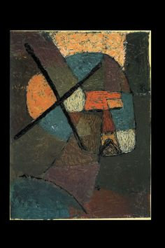 "Paul Klee - ""Struck from The Lists"", 1933 - Oil on paper on cardboard - 12,4 x 9,4 in."