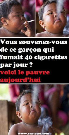 Vous souvenez-vous de ce garçon qui fumait 40 cigarettes par jour ? voici le pauvre aujourd'hui#garçon #fumer #cigarette #pauvre #santé #actualité #enfant #enfants #enfance