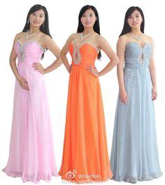 748e162f01a0 FairOnly Chiffon Women Long Evening Formal Bridesmaid Dress Size 6 8 10 12  14 16 Formal