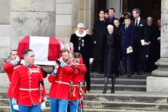 Danish Royals Attend Funeral for Prince Henrik, the Queen's Husband Who Wanted to Be King Queen Husband, Danish Prince, Danish Royal Family, Danish Royals, Royal House, Prince Philip, Helsinki, Stockholm, Funeral