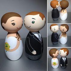 Noivinhos de Madeira by MoraAmora - Topo de Bolo e muito mais...: Maio - Mes das Noivas