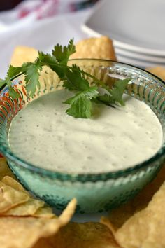 You're gonna love this {copycat} Chuy's Creamy Jalapeno Dip Recipe, just like the restaurant but you can make this at home. Great for parties & gatherings.
