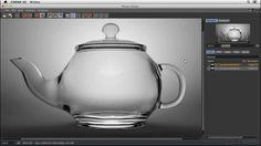 CINEMA 4D lighting tutorial: Shooting glass on a light background