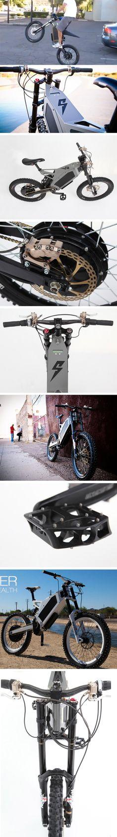 Bike elétrica de alta performance
