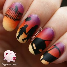 Chapter FIVE!!! of the epic love story sequel - #nailart #epicnails #zoonails #zooart #piggieluv #lovestory #piggieluv - Love beauty? Go to bellashoot.com for beauty inspiration!