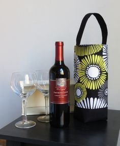 Wine Tote Free Tutorial