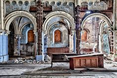 Abandoned Saint Boniface Church  Chicago, Illinois