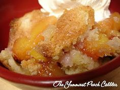 But Mama, I'm Hungry!: The Yummiest Peach Cobbler