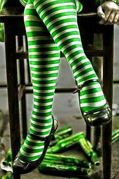 Love those green strips