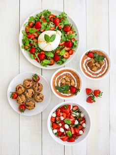 Get Snacking Challenge Holiday Healthy Strawberry Recipes, Strawberry Snacks, Healthy Snacks, Salad Recipes, Snack Recipes, Dessert Recipes, Few Ingredients, Kitchen Aid Mixer, Other Recipes
